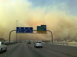 Badai Pasir Terpa Makkah dan Madinah