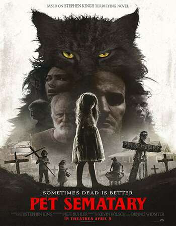 Poster Of Pet Sematary In Dual Audio Hindi English 300MB Compressed Small Size Pc Movie Free Download Only At worldfree4u.com