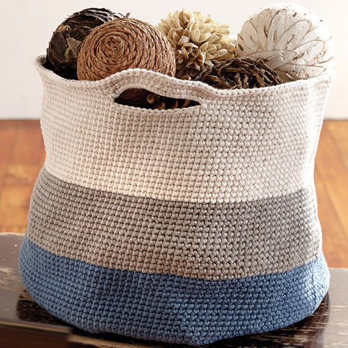 Handy Basket - Free Pattern