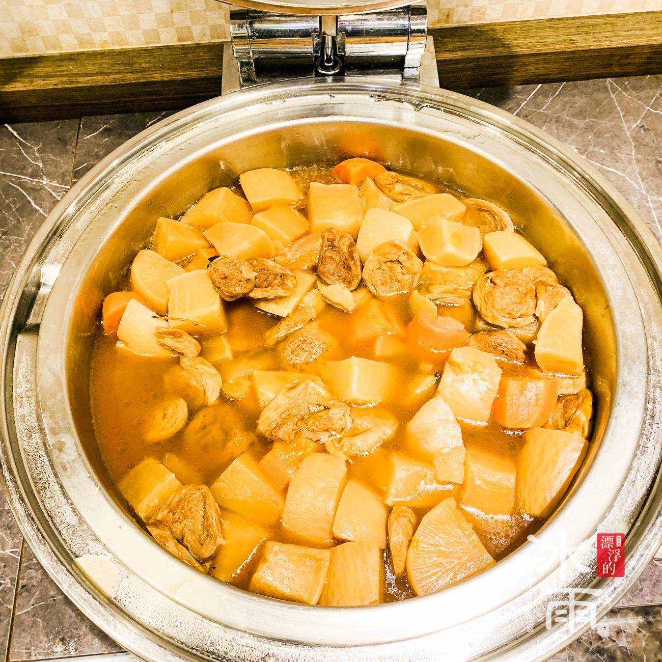 川湯春天溫泉飯店德陽館|早餐|滷菜