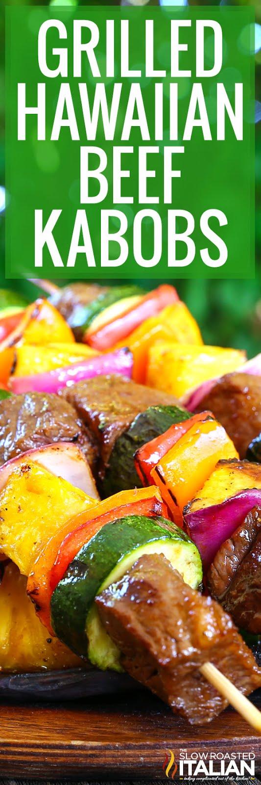 Kebab Recipe: Hawaiian Beef Skewers recommendations