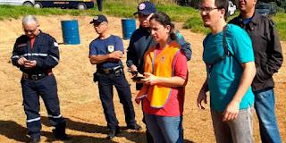 GCM de Várzea Paulista participa de curso de operador de 'drone