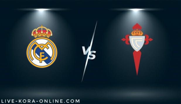 مشاهدة مباراة سيلتا فيغو و نادي ريال مدريد بث مباشر اليوم بتاريخ 20-03-2021 في الدوري الاسباني