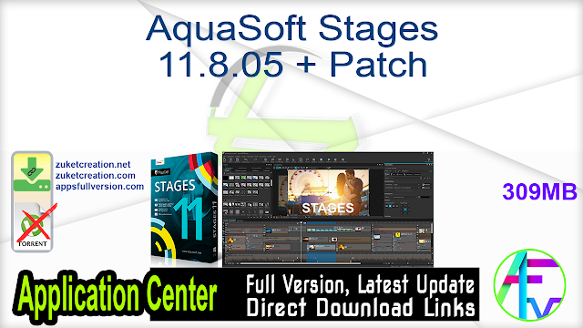 AquaSoft Stages 11.8.05 + Patch