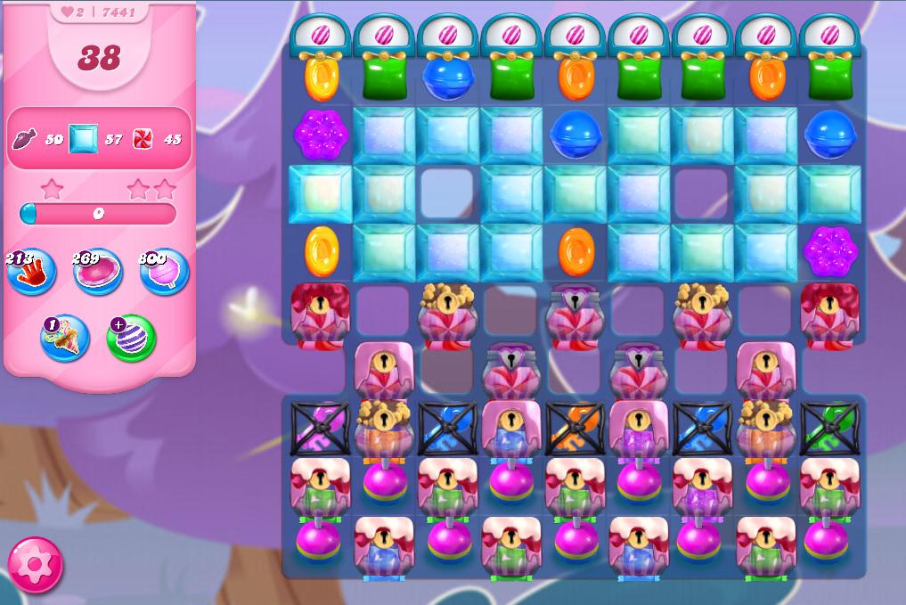 Candy Crush Saga level 7441