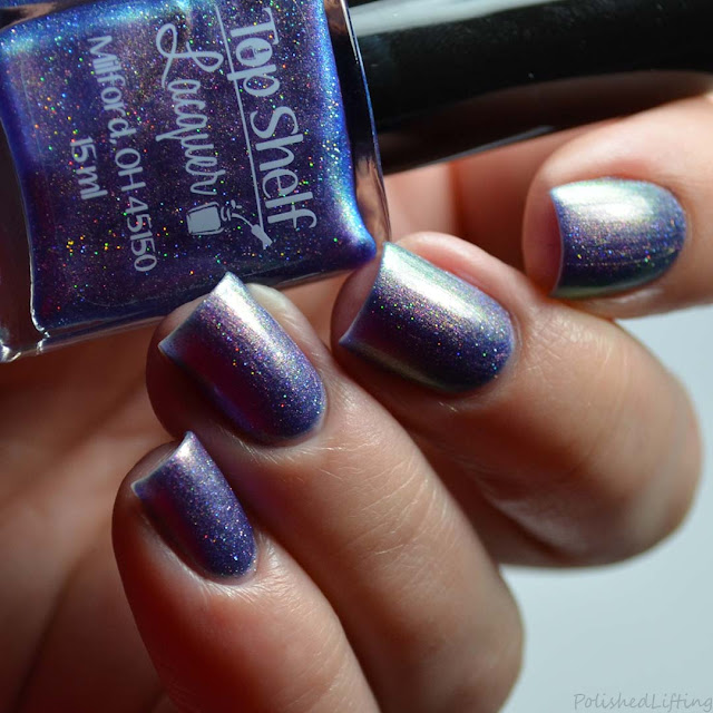 purple color shifting nail polish