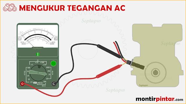 cara menggunakan AVOmeter Analog (jarum)