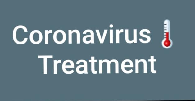 Can coronavirus be treated via some of herbs or plants ?