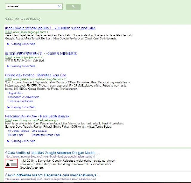 Cara Menampilkan Iklan AdSense di Google Custom Search Engine