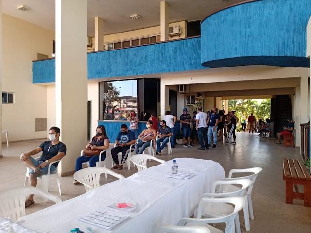 Em apenas um dia mais de 7 mil pessoas são vacinadas em Santarém contra a Covid-19