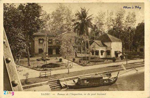 Khu vực bờ sông Sa Đéc phường 4 xưa