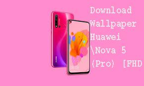 Download Wallpaper Huawei Nova 5 (Pro) [FHD +] 1