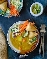 Burmese Samosa Soup Recipe