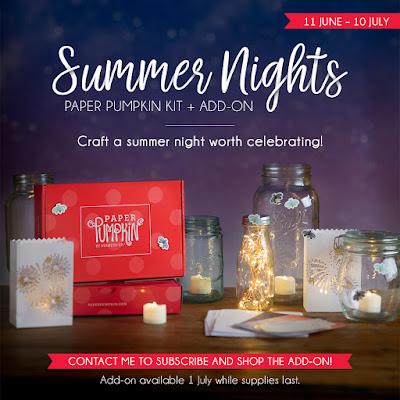 Summer Nights Paper Pumpkin Kit