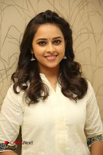 Actress Sri Divya Pictures at Rayudu Movie Success Meet  0001