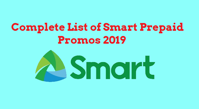 Complete List of Smart Prepaid Promos 2019: Call, Text, Combo and Internet Data