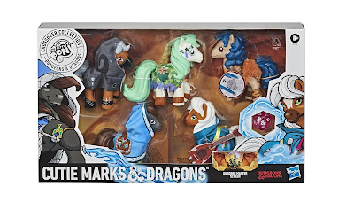 My Little Pony x Dungeons & Dragons Crossover Collection Cutie Marks & Dragons 5 Figure Box Set