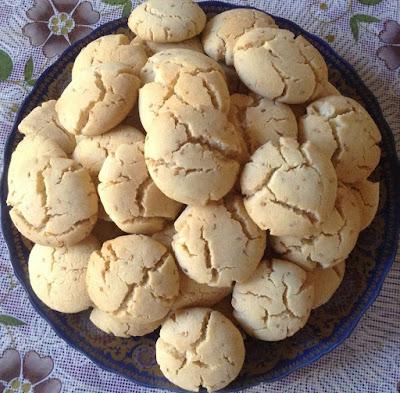 حلوى الغريبة المغربية