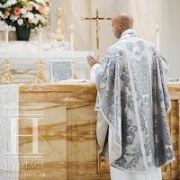 A Rare Sight: The Silver Chasuble