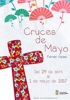 FERNÁN NÚÑEZ - CÓRDOBA - Cruces de Mayo 2017