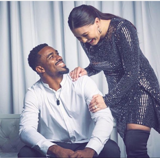 Raheem Mostert And His Wife Devon Mostert