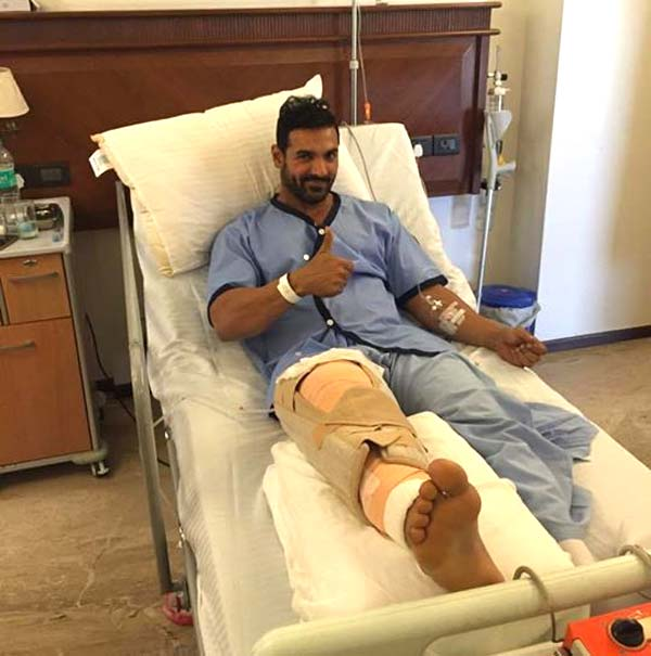 Video Of John Abraham's Knee Surgery Will Make You Realise
