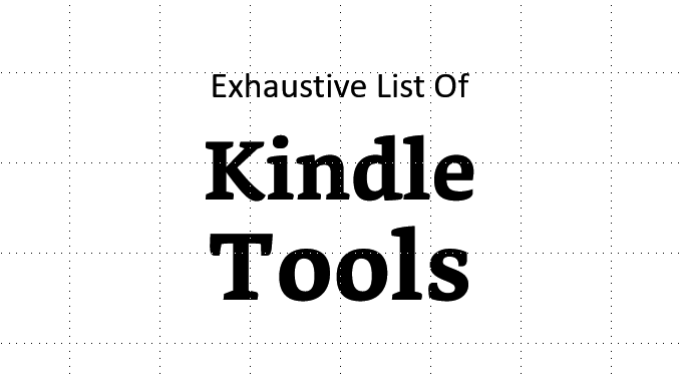 Kindle Tools services tips