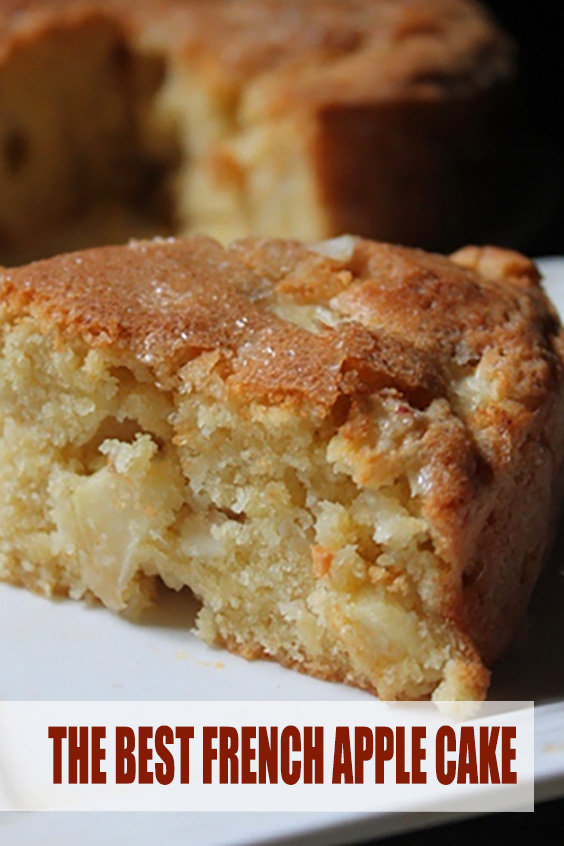 THE BEST FRENCH APPLE CAKE