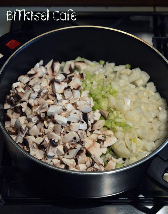 Mushroom Tofu Loaf