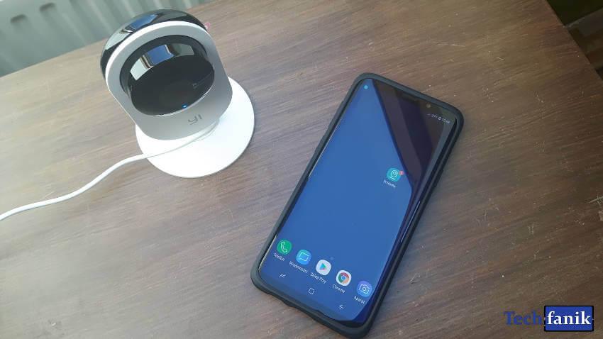 yi home camera połączenie z aplikacją