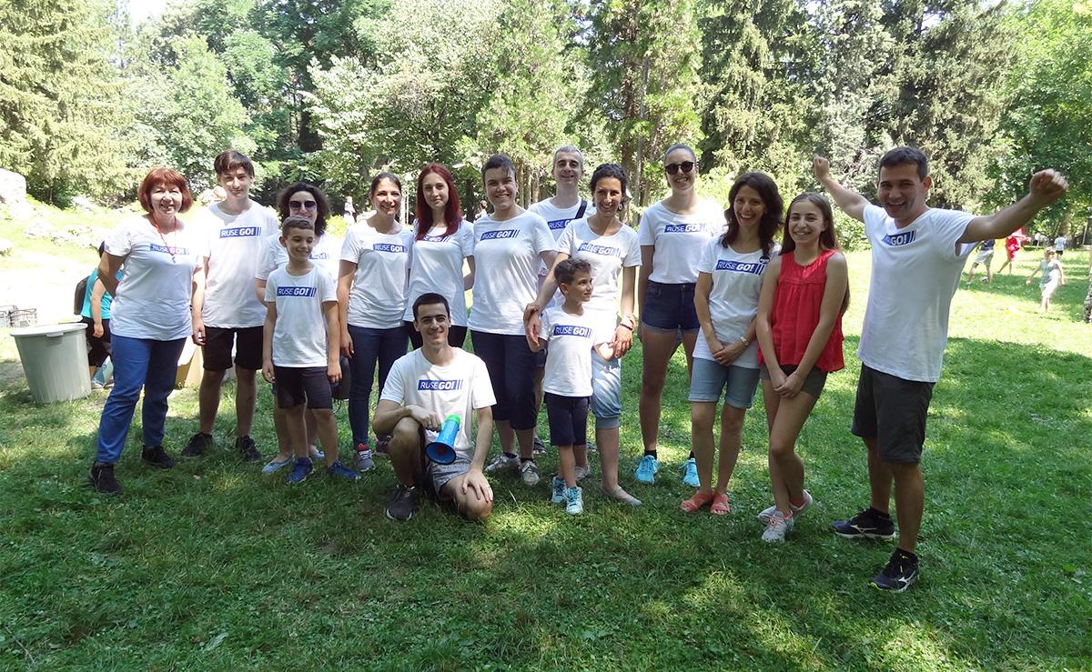 Част от доброволците на Ruse GO!