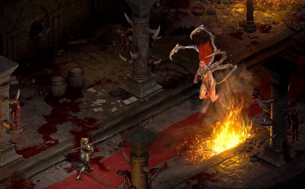 Diablo 2: Resurrected we play in the ninth month