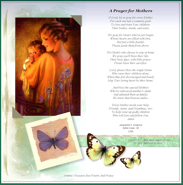 Christian Images In My Treasure Box: Poems About Mothers