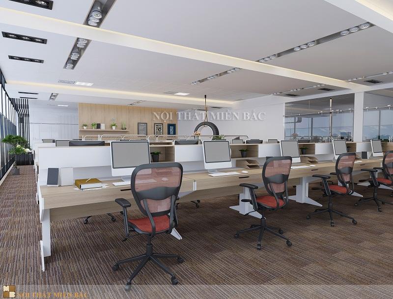 Thiết kế phòng làm việc đẹp mang tính thẩm mỹ cao