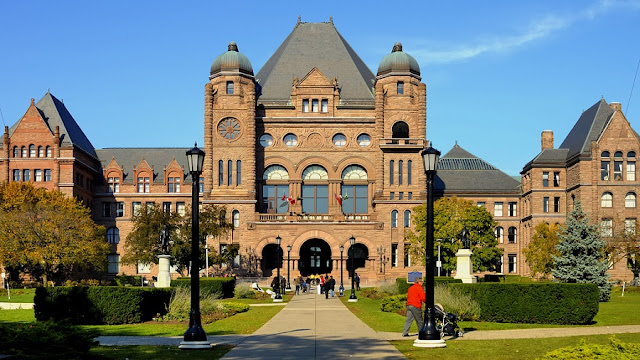 Ontario's Legislative Building em Toronto