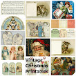 Vintage Christmas Printable's: Free downloads: Tags, Cards, Sheet Music and Paper Dolls.
