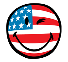 Independence Day smiley