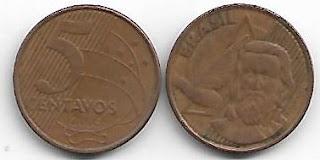 Moeda de 5 centavos, 2005