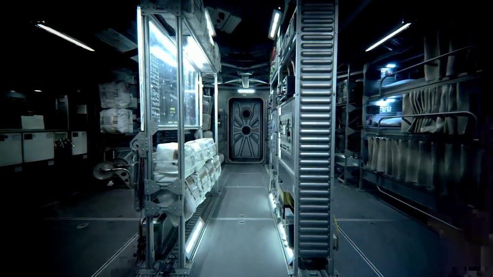 'ऑल मैनकाइंड' के सीजन 1 में जेम्सटाउन फेज 1 यूएस मून बेस इंटीरियर