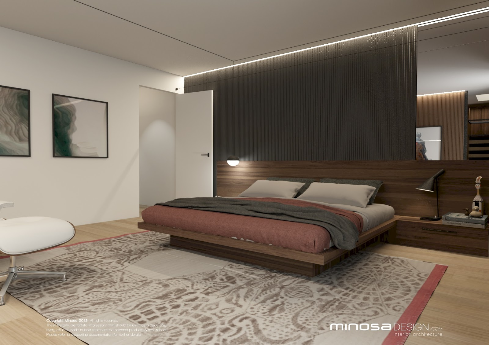 Minosa the parents retreat a place to escape for Bedroom ensuite designs