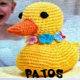 http://patronesamigurumis.blogspot.com.es/2013/10/patrones-patos.html