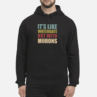 It's Like Watergate But With Morons Shirt 6