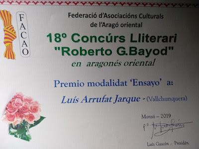 CANSÓ D'ESPERANSA, agüelo Sebeta, ensayo, Roberto G. Bayod, Monsó, 2019