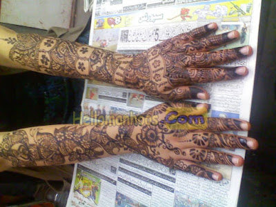 Beautiful Afghanistani Mehndi Designs 2020