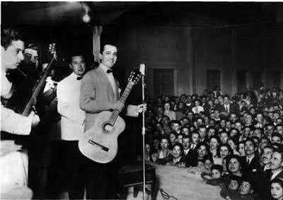 Hugo Del Carril y Ubaldo De Lio en 1948