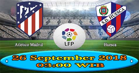 Prediksi Bola855 Atletico Madrid vs Huesca 26 September 2018