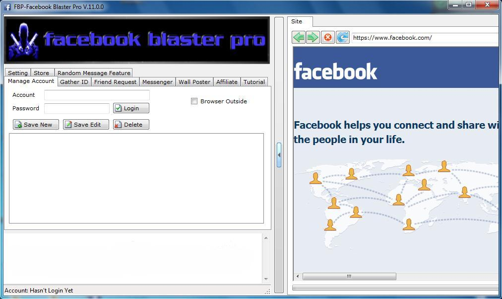 Facebook Blaster Pro 11 Marketing Tool Free Download