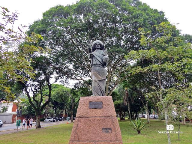 Close-up da Escultura Infante Dom Henrique (Monumento) - Ibirapuera - São Paulo