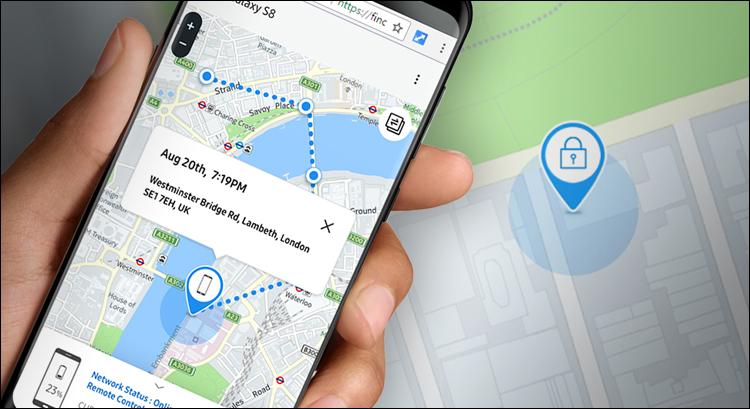 كيفية تفعيل واستخدام خدمة Find My Mobile في هواتف سامسونج Sign_out_map