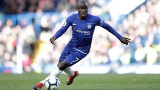 Bookies include Real Madrid among' favourites to land Chelsea stalwart N'Golo Kante